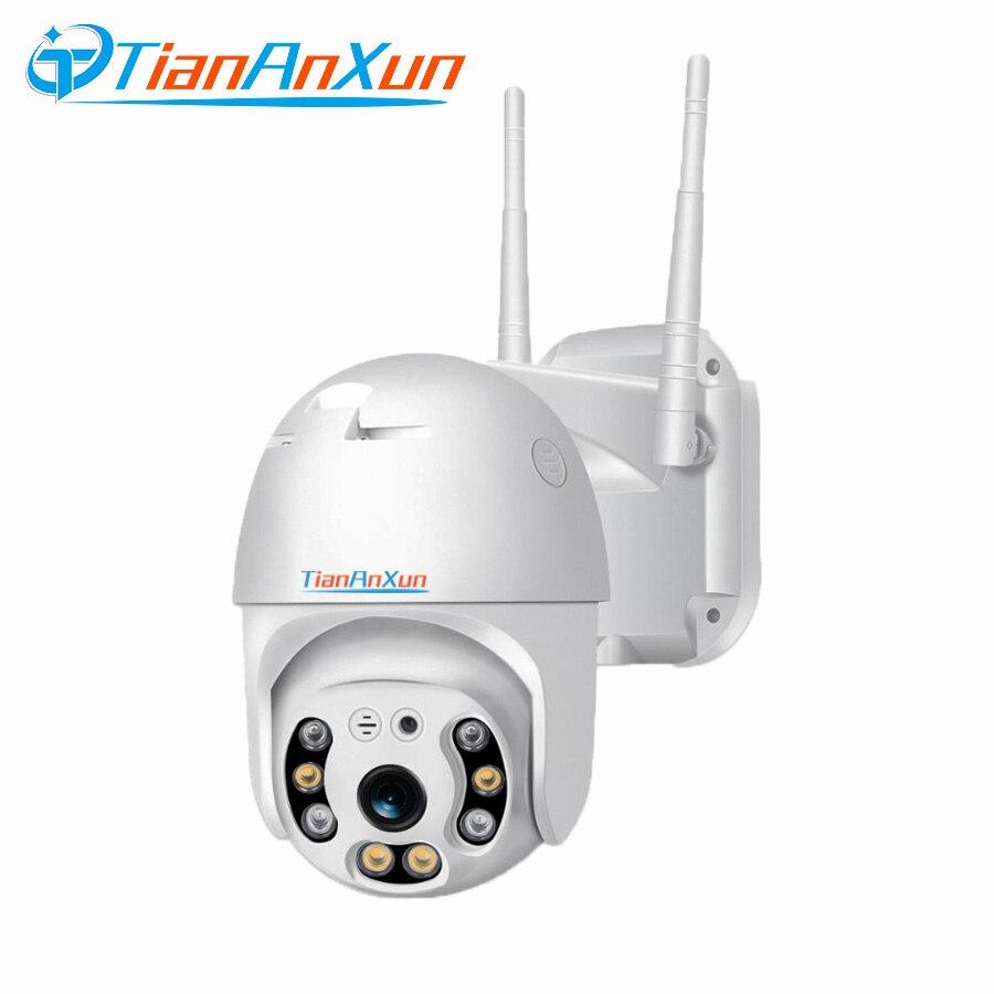 Tiananxun 5Mp Ip كاميرا واي فاي Ptz الأمن كاميرات الدوائر التلفزيونية المغلقة الرئيسية الذكية Ai في الهواء الطلق اللاسلكية مراقبة الفيديو Sd فتحة للبط...