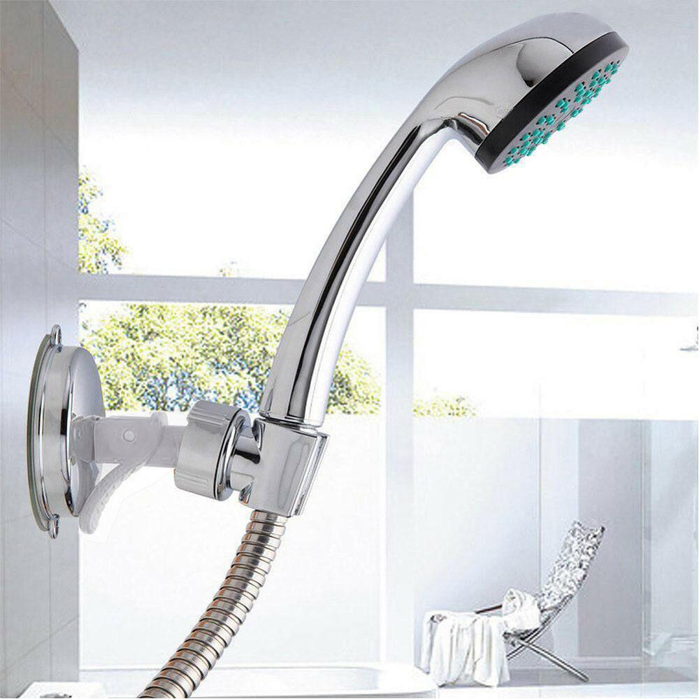 Фото - Самоклеящаяся подставка для душевой лейки, ручной держатель для душевой лейки, аксессуары для ванной комнаты электрическая самоклеящаяся подставка для ванной комнаты