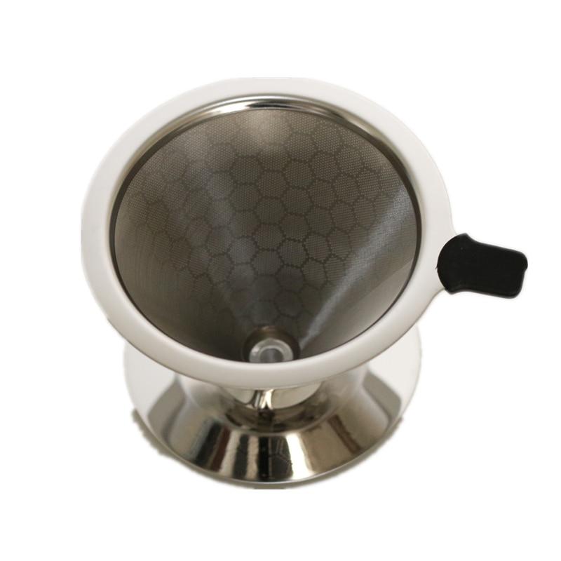 Filtro de café reutilizable V60, accesorios de cocina, gotero de café de...