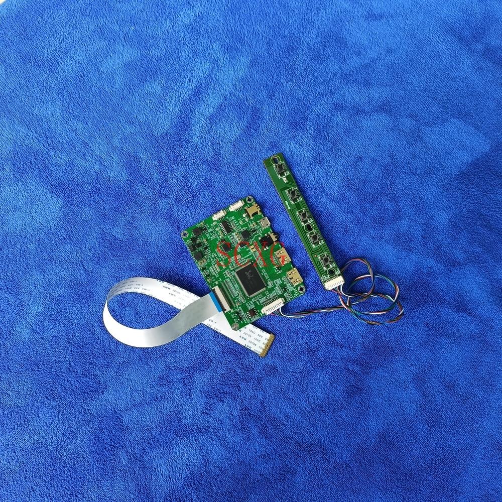 LED عدة مايكرو USB 5 فولت مصفوفة محرك تحكم مجلس صالح B156XW04 V7/V8 G156XTN02.0/1 HDMI-متوافق 2-Mini 30 دبوس eDP 1366*768