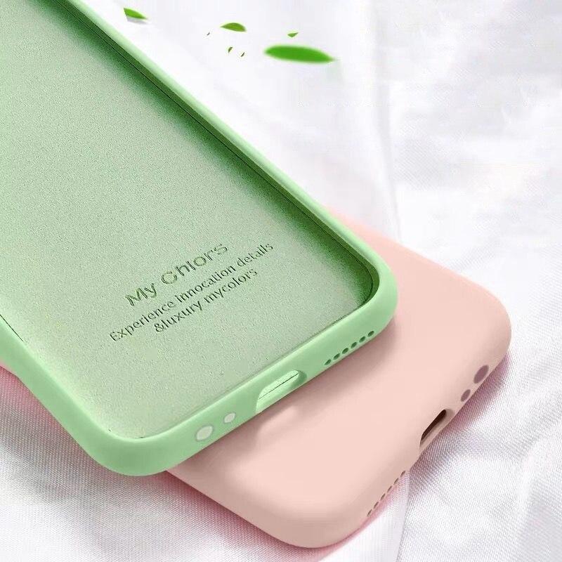 Original Liquid Silicone Cover Case For Huawei P20 P30 Pro Mate 20 Lite 20X Nova 3 3i 5T 5Z Honor 10 Lite 20 Pro 20S 8X 9X Coque