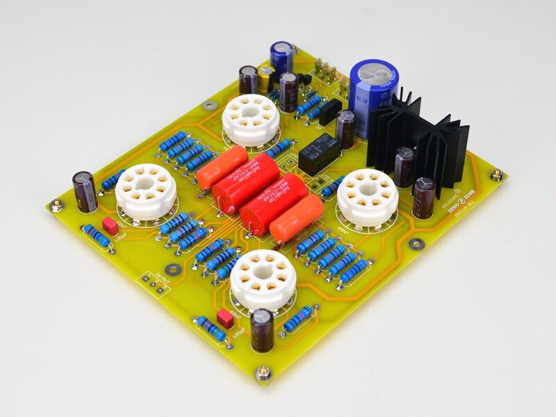 Alta fidelidade PRT-11A 6n8p (6sn7) tubo pré-amplificador placa/kit base em gary CARY-AE1