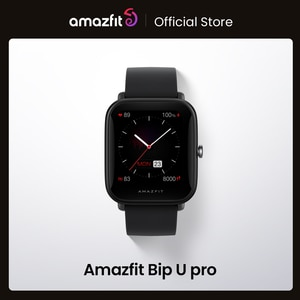 Amazfit Bip U Pro GPS Smartwatch Color Screen 31g 5 ATM Water-resistance 60+ Sports Mode Smart Watch for Android