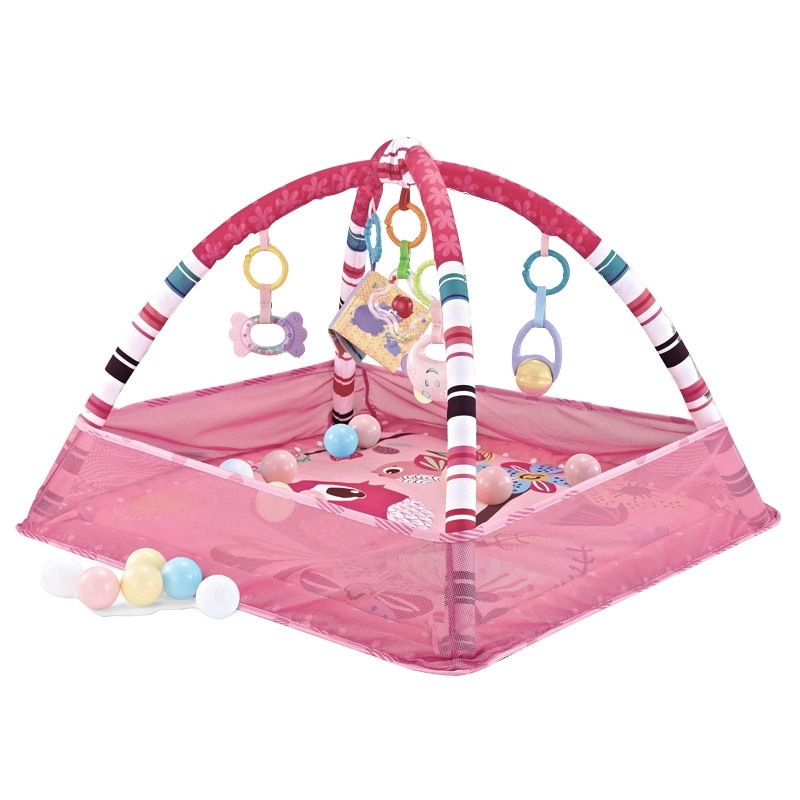 children s mat baby play mat kids rug gym fitness frame activity fence toys Children's Mat Baby Play Mat Kids Rug Gym Fitness Frame Activity Fence Toys Early Education Crawling Game Blanket Pink