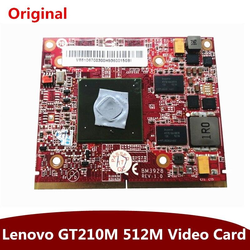 الأصلي بطاقة الرسومات لينوفو B510 المتكاملة الكمبيوتر gt210 512 متر MXM 3.0 لوحة بطاقة الفيديو 1 قطعة شحن مجاني