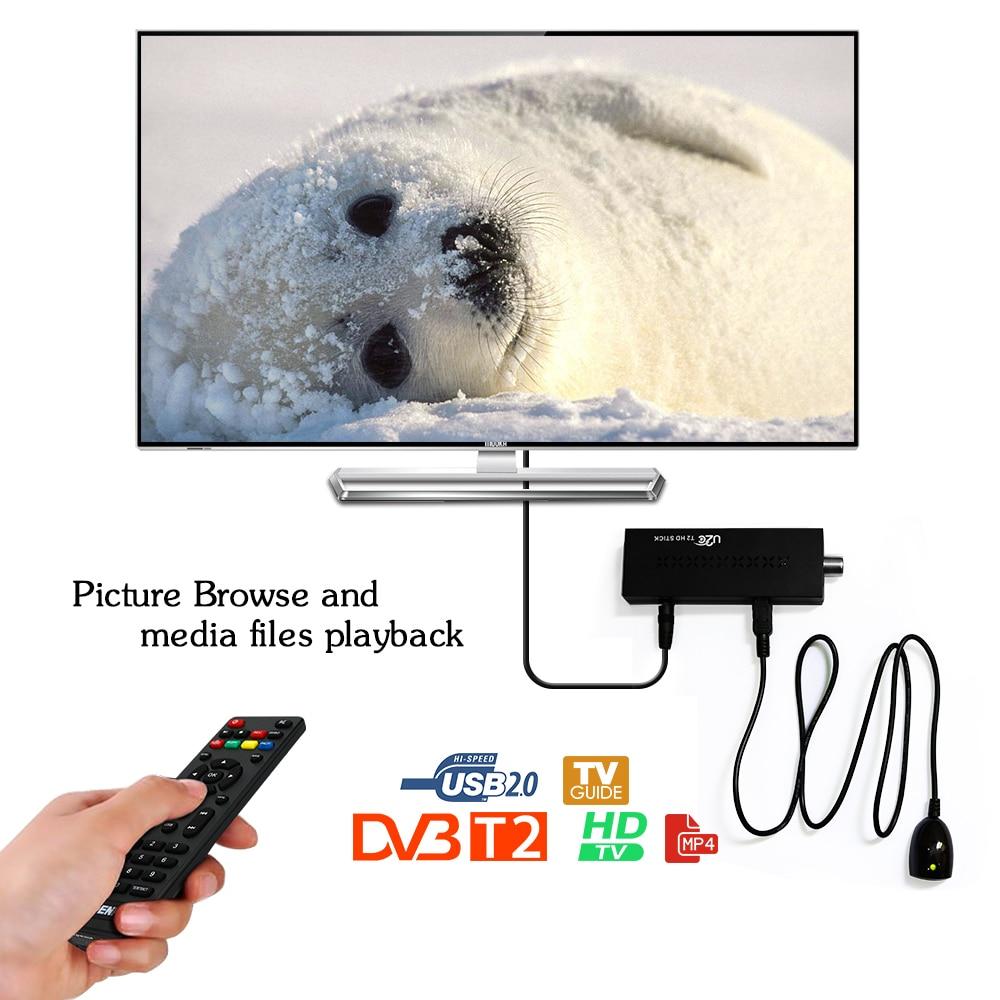 TV Stick DVB-T2 Wifi Receiver HD Digital TV Tuner Receptor DVB T2 H.264 Terrestrial TV Receiver TDT Set Top Box For Russian DVB недорого