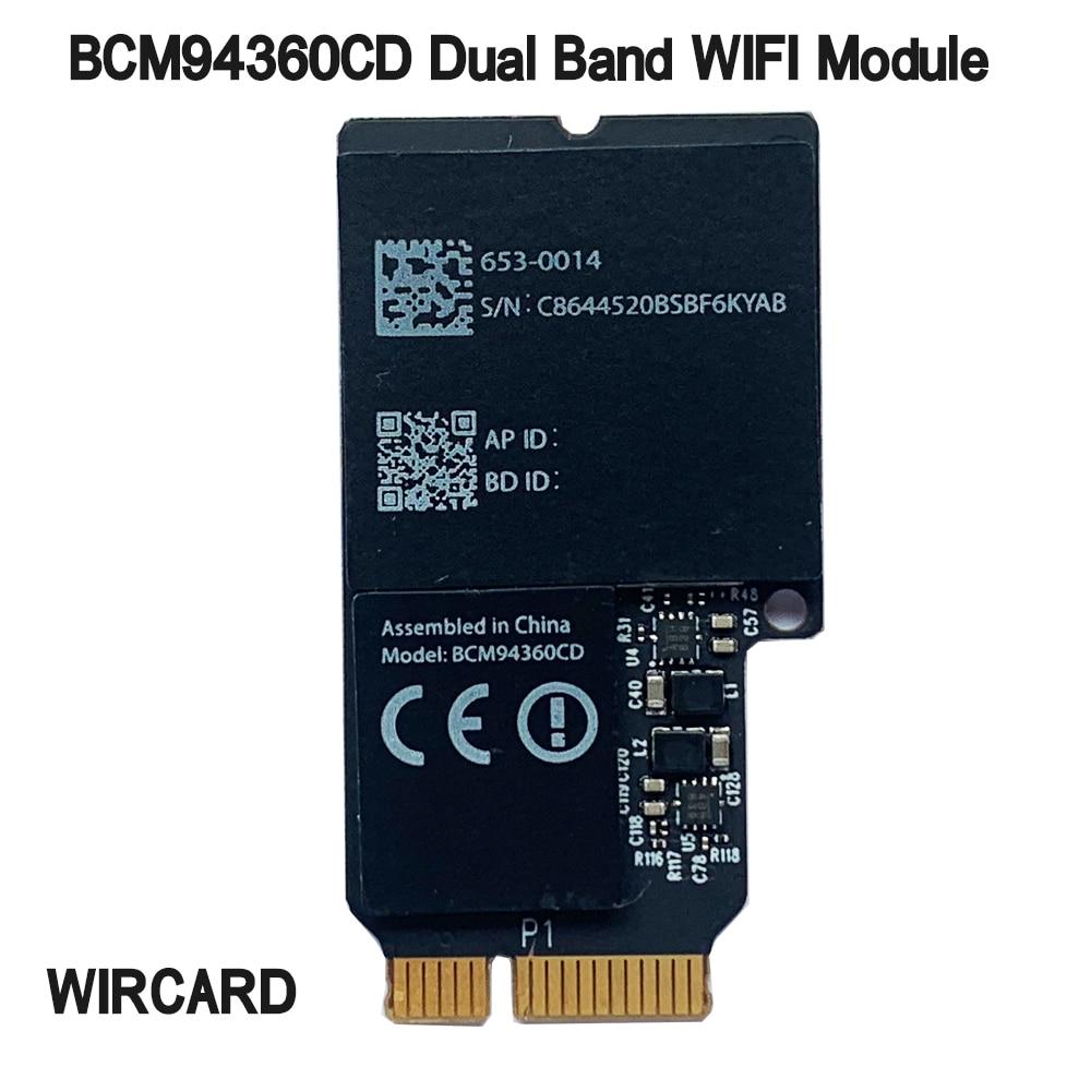 WIRCARD ثنائي النطاق 1750Mbps BCM94360CD 802.11AC واي فاي لاسلكي BT 4.0 bcm94360cd البطاقة الأصلية Airdrop ل هاكينتوش ماك OS