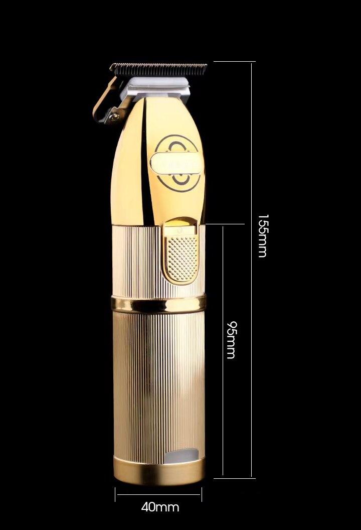 P700 Gold Metal Barbershop Cutter Hair Cutting Machine Haircut Cordless Hair Clipper Hair Trimmer Pop Barbers 110-240v enlarge