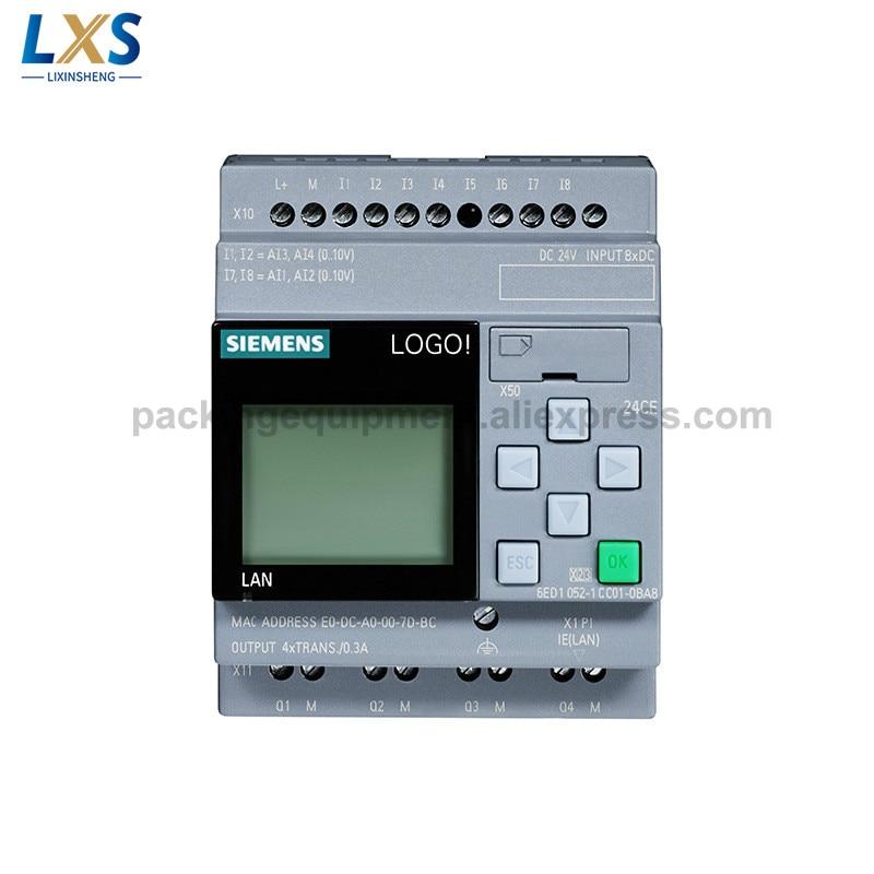 Módulos básicos do controlador do plc 24 v siemens