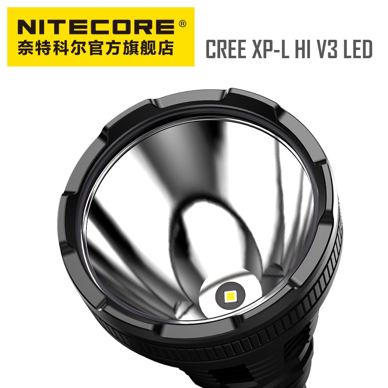 NITECORE MH40GTR High-Light Long-Range Direct-Charge Probe Search Tactical Hunting Flashlight Super Bright with 18650 Battery enlarge