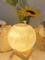 Humidificateur dair ultrasonique  huile essentielle  pleine lune  veilleuse  purificateur de brume fraiche  pour le bureau et la maison  880ml