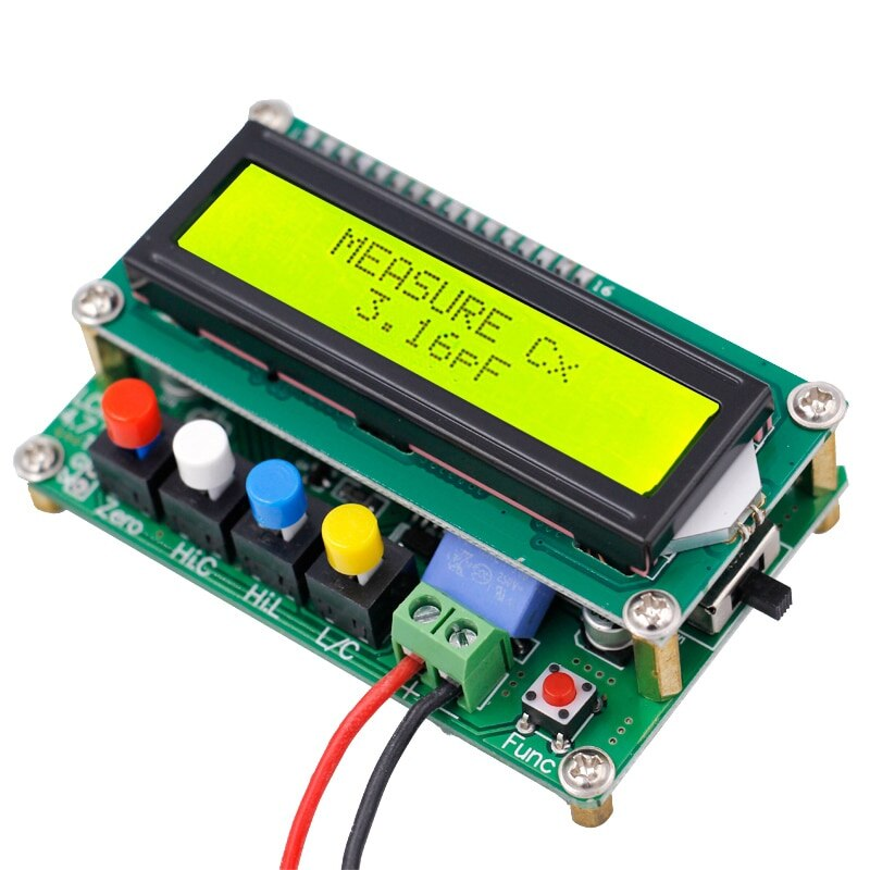 Lc100- Digital LCD High Precision Inductance Capacitance Meter Capacitor Tester Frequency 1Pf-100Mf