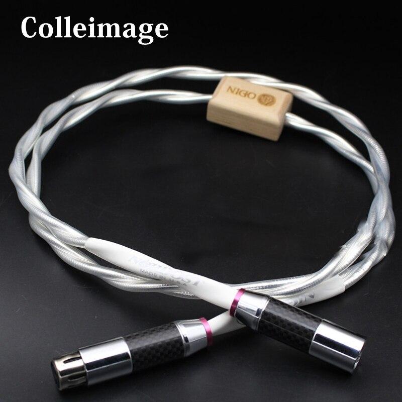 Colleimage-WBT-0144 de fibra de carbono Hifi, Cable Coaxial Digital, Nordost, Odín, RCA,...