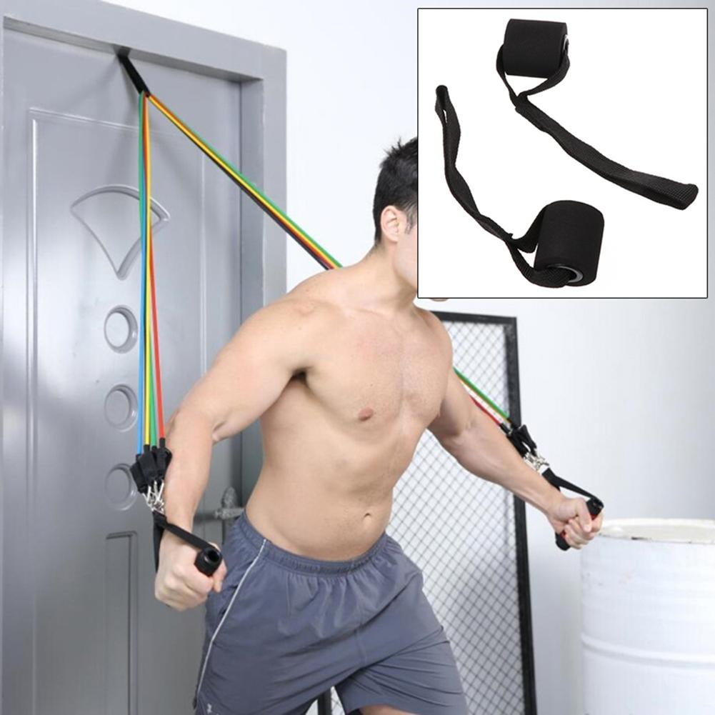 Bandas elásticas para entrenamiento de ejercicios, bandas de resistencia para entrenamiento de resistencia, entrenamiento de resistencia, entrenamiento de fisioterapia en casa