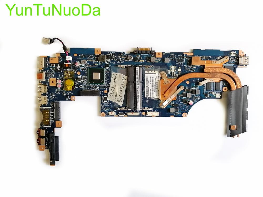 NOKOTION para TOSHIBA Satellite U940 U945 placa base para ordenador portátil VCUAA LA-9161P K000141030 K000136090 placa base I5-3317U CPU GT630M