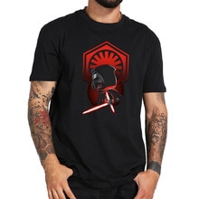 Kylo Ren T Shirt Star Wars The Force Awakens First Order Tshirt Movie Size 100% Cotton Crewneck Soft Simple Shirt