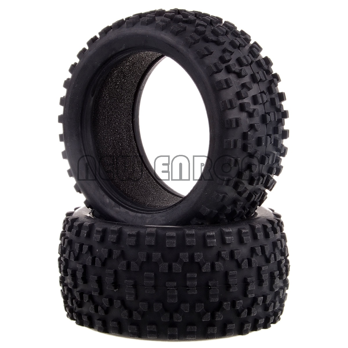 Nuevo ENRON 110 HSP 06025P neumático de rueda trasera 2p neumáticos para RC 1/10 escala para Himoto Nitro eléctrico RC Buggy