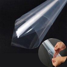 Taille 50*200CM rouleau voitures 3 couches peinture Protection PPF Film pour voiture emballage Transparent Auto véhicule revêtement autocollant