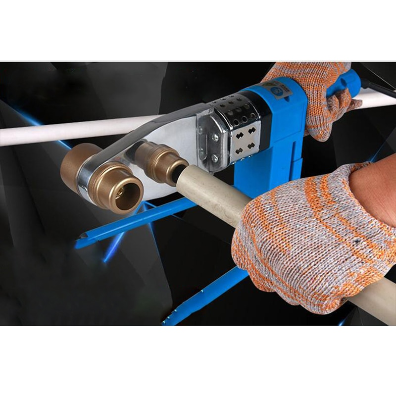 Thermostat fuse machine Constant temperature PPR,PE,PB20-63 Plastic pipes Fusion splicer Heating welder Plastic welding machine enlarge