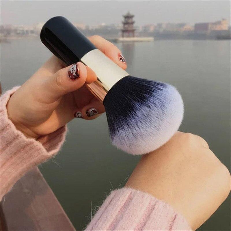 Langmanni-brochas de maquillaje de gran tamaño, brocha para base de maquillaje en polvo, brocha suave para cara, brocha profesional para colorete, Cosméticos grandes, útiles de maquillaje