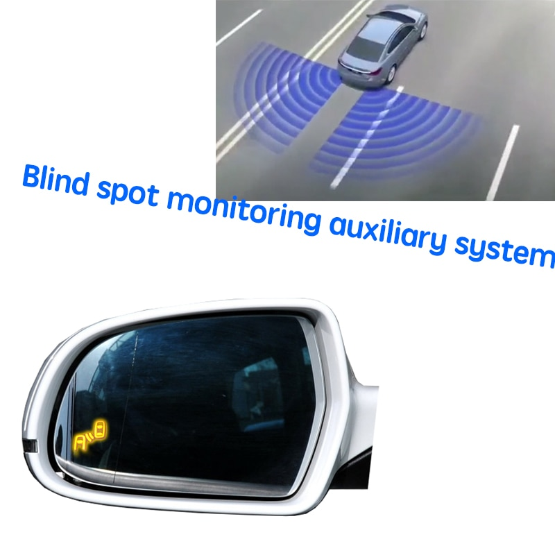 نظام BSD BSM BSA للسيارة مزود بمرآة لتحديد المناطق العمياء نظام اكتشاف الرادار الخلفي للسيارة Audi A3 8P 2012