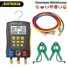 AUTOOL Измеритель температуры и давления для вакуумного кондиционера