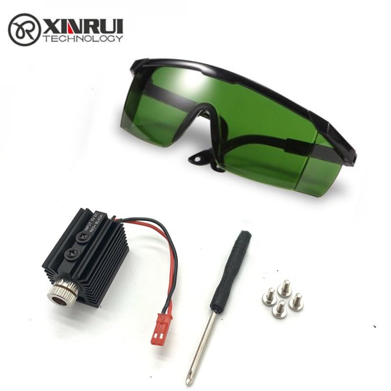 5V 1000MW 1500MW 405nm Blueviolet Light Laser Head laser Module Engraver Accessory for CNC laser Car