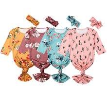 Sac de couchage pour nouveau-né   Couverture pour bébé fille, enveloppe en mousseline + bandeau
