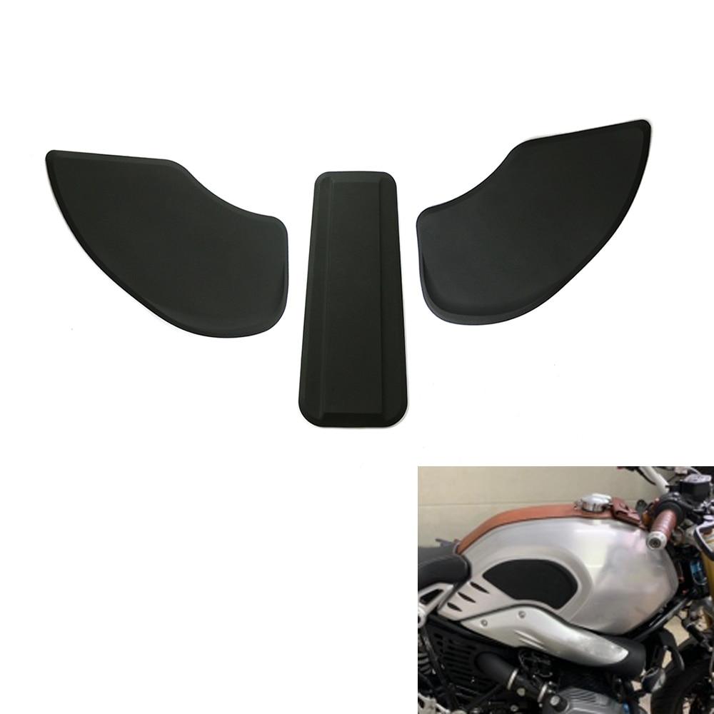 Para BMW R NINE T R9T 2014-2017, accesorios para motocicleta, almohadilla de tanque, pegatina de goma, adhesivo lateral de Gas para rodilla, Protector de almohadilla de tracción