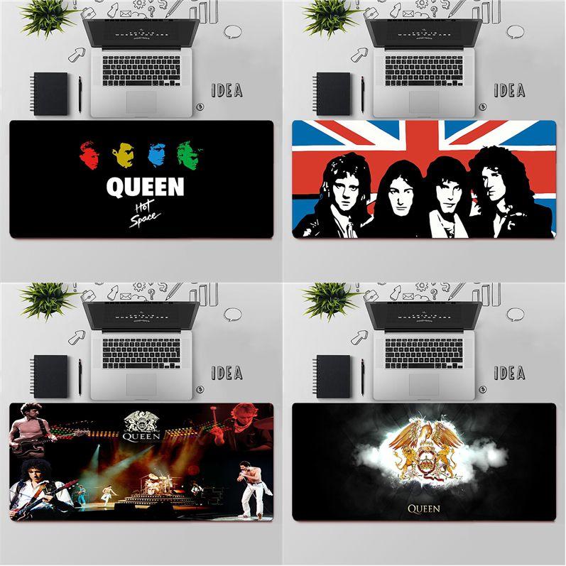 Игровой коврик для мыши, Большой Коврик Для Мыши для ПК, игровой компьютерный коврик для мыши, большой коврик для мыши, коврик для мыши Queen Band ...