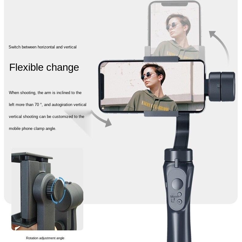 Handheld Mobile Phone Stabilizer Smartphone Stabilizer Camera Gimbal  3 Axis Handheld Selfie Stick  Estabilizador Celular enlarge