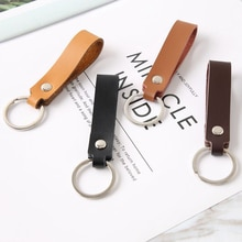 Genuine Leather Keychain Holder Pocket For Car Keys Wallet Clip Ring Women Men Handmade Handbags Acc