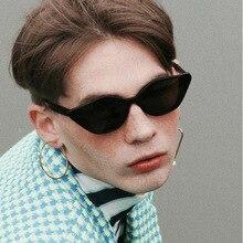 Brand Designer Cat Eye Sunglasses Women Luxury Plastic Sun Glasses men Classic Retro Outdoor Oculos