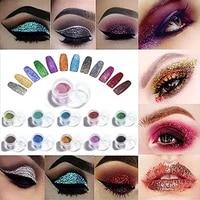 10 gram bulk price nail glitter powder arts and craft glitter eyeshadow makeup nail art pigment glitter glitter for slime