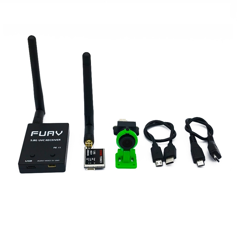 5.8G FPV Receiver UVC Video OTG Android Phone TS5823 200mw 600mw VTX 1000TVL CMOS FPV Camera For RC Drone vehicles FPV Racing
