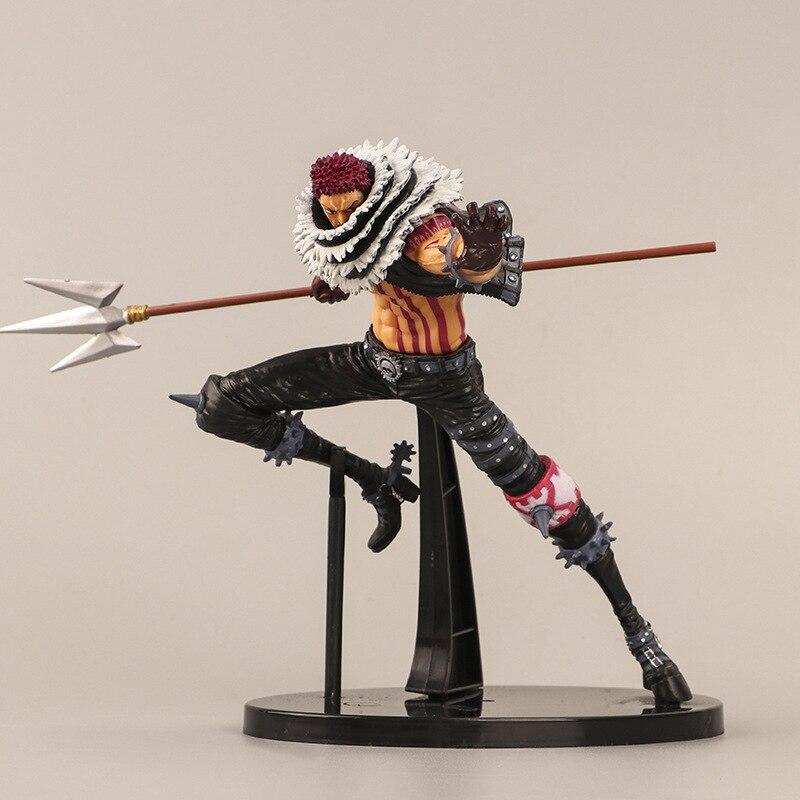 16,5 cm una pieza Anime Comics Charlotte Katakuri figuras de acción juguetes modelo figurita Cosplay accesorios regalo de cumpleaños