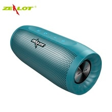 ZEALOT S16 kablosuz taşınabilir hoparlör sütun HIFI Stereo bluetooth hoparlör bas Subwoofer hoparlörler Mic ile destek TF kart, AUX