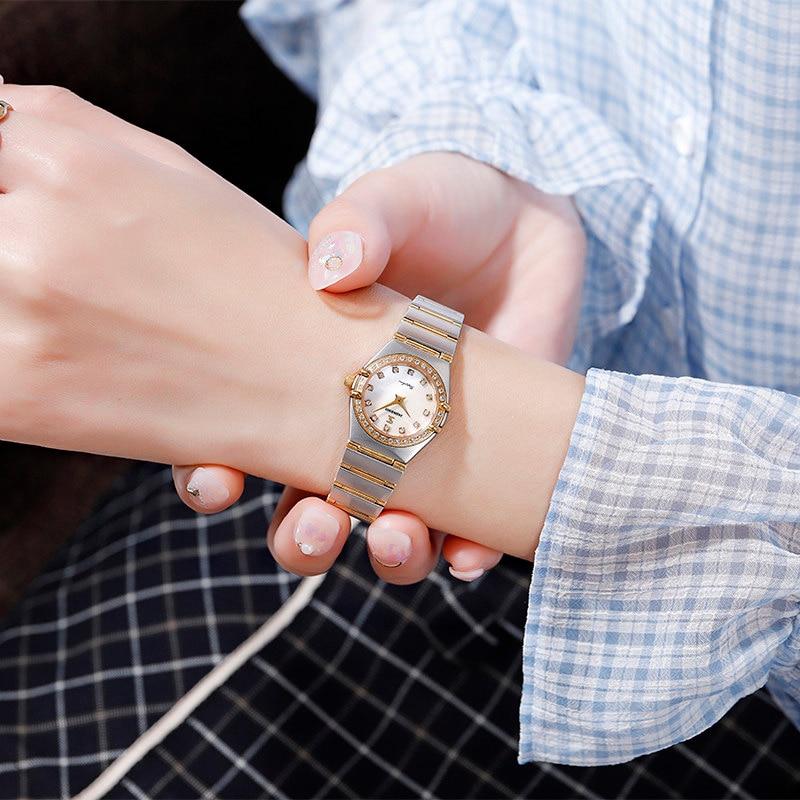 John boss New Arrival Old Fashion Constellation Luxury Quartz Watch Women Fashion and Elegant Untral Thin small Watch Lady
