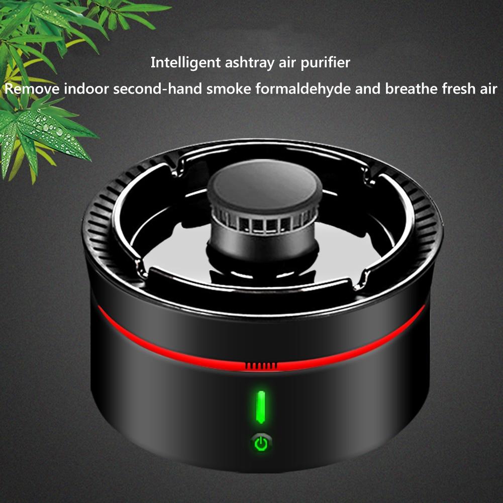 USB Portable Ashtray Smokeless Office Desktop Peculiar Smell Secondhand Smoke Formaldehyde Air Filter Purifier enlarge