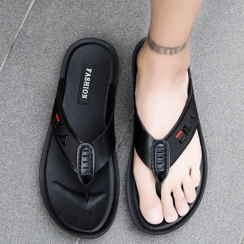 Chinelos ao ar Livre dos Homens Chinelos de Massagem Sandálias ao ar Livre para Chinelos Interior Sapatos Masculinos Casa Verão Casual Moda Praia Livre para