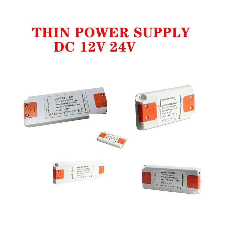 12 Volt Power Supply 12V LED Driver 20W 30W 40W 50W 60W AC 110V 220V to 12V DC Lighting Transformer Adapter for LED Strip CCTV