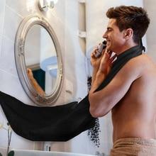 New Man Bath Shave Apron Black Beard Apron Hair Shave Apron For Man Waterproof Floral Cloth Househol