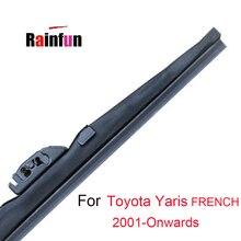 RAINFUN-balai dessuie-glace pour Toyota Yaris français 2001-2011