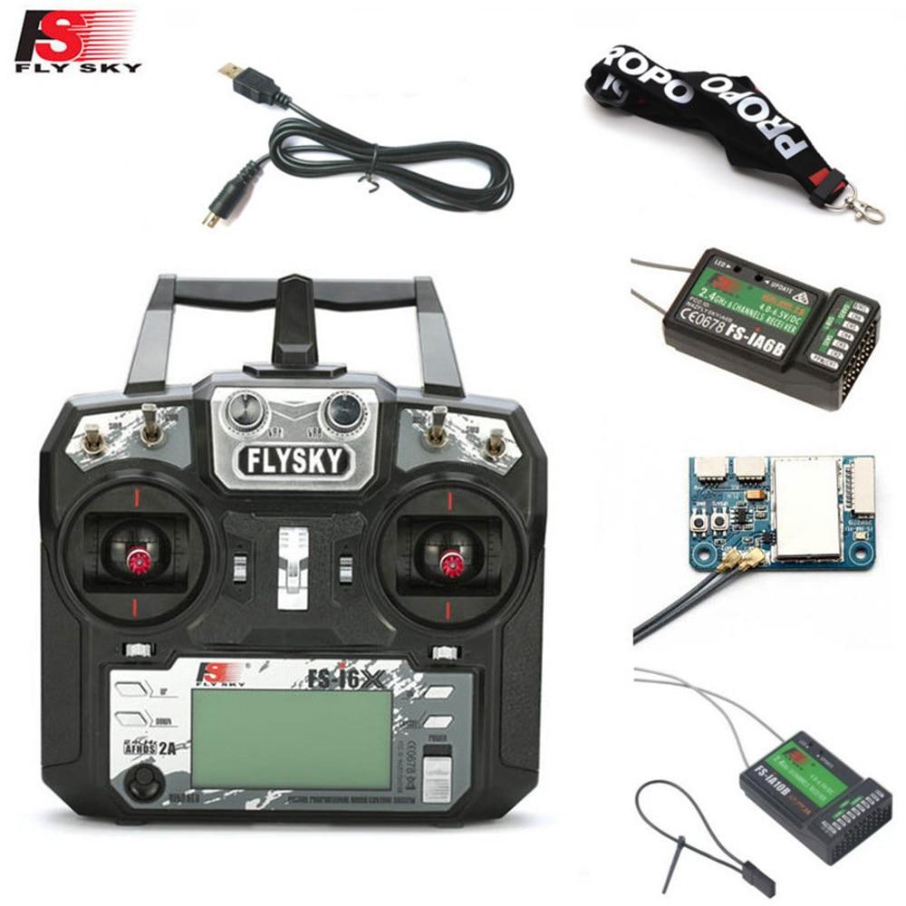 FLYSKY FS-i6X FS i6X 10CH 2.4GHz AFHDS 2A RC Transmitter With X6B iA6B A8S iA10B iA6 Receiver for RC FPV Racing Drone Retailbox flysky receiver fs gr3e fs a3 fs ia6 fs r6b fs x6b fs a8s fs r9b fs ia10b fs ia10
