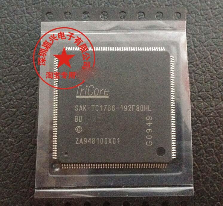 1pcs/lot SAK-TC1766-192F80HL-BD SAK-TC1766-192F80HL SAK-TC1766 SAK-TC1766-192 LQFP176 Car computer board cpu chips