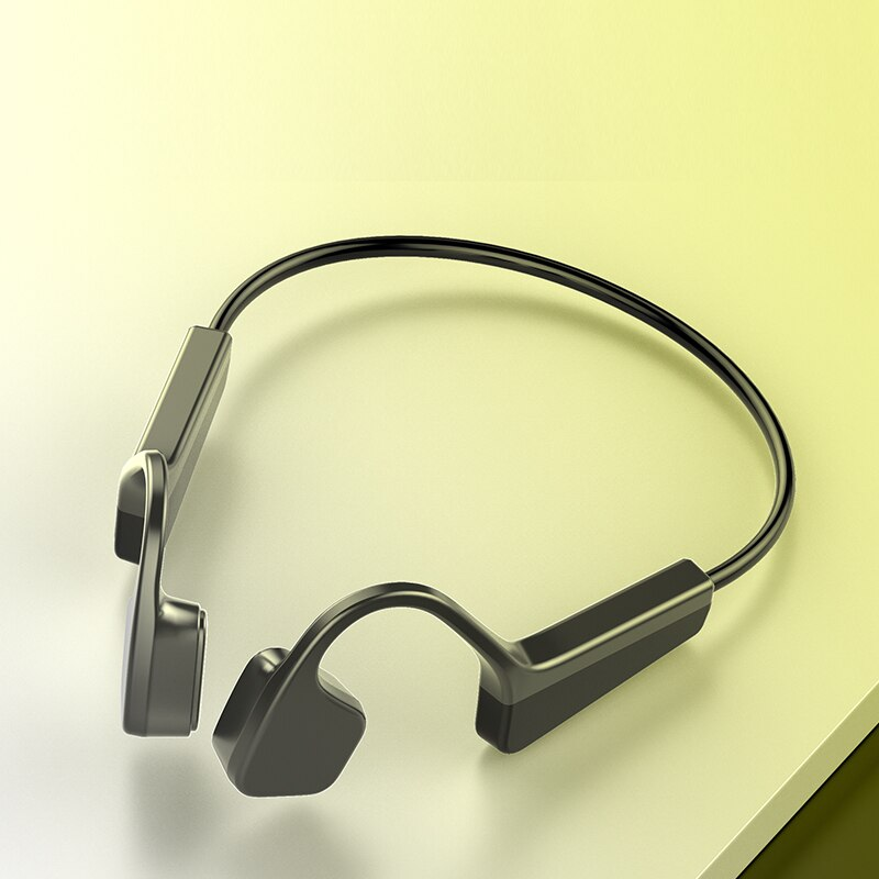 V11 Bluetooth Wireless Lightweight Bone Conduction Earphone Outdoor Sport Stereo Sensing Waterproof Headset With Mic enlarge