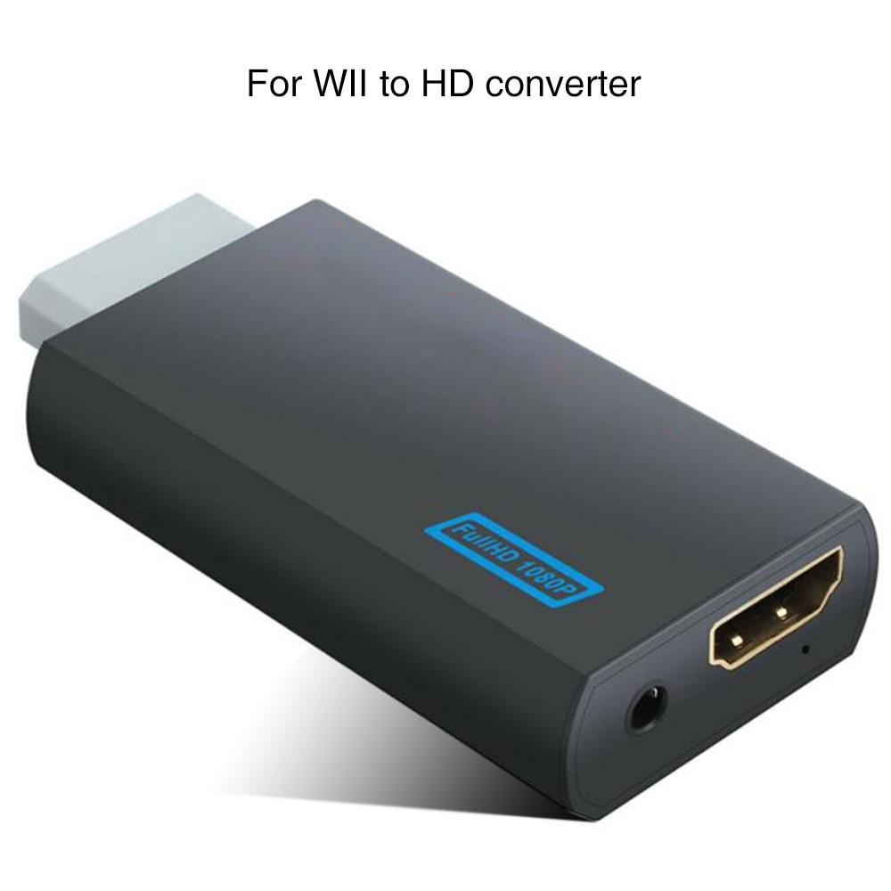 Para Wii convertidor adaptador para Wii2 convertidor Hd completo de Audio de...