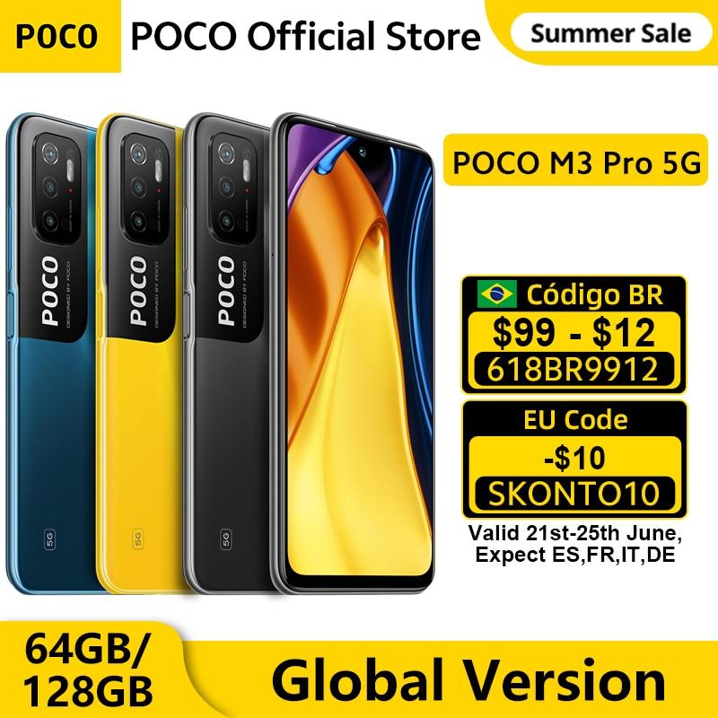 [Мировая премьера] глобальная версия POCO M3 Pro 5G 90 Гц 6,5