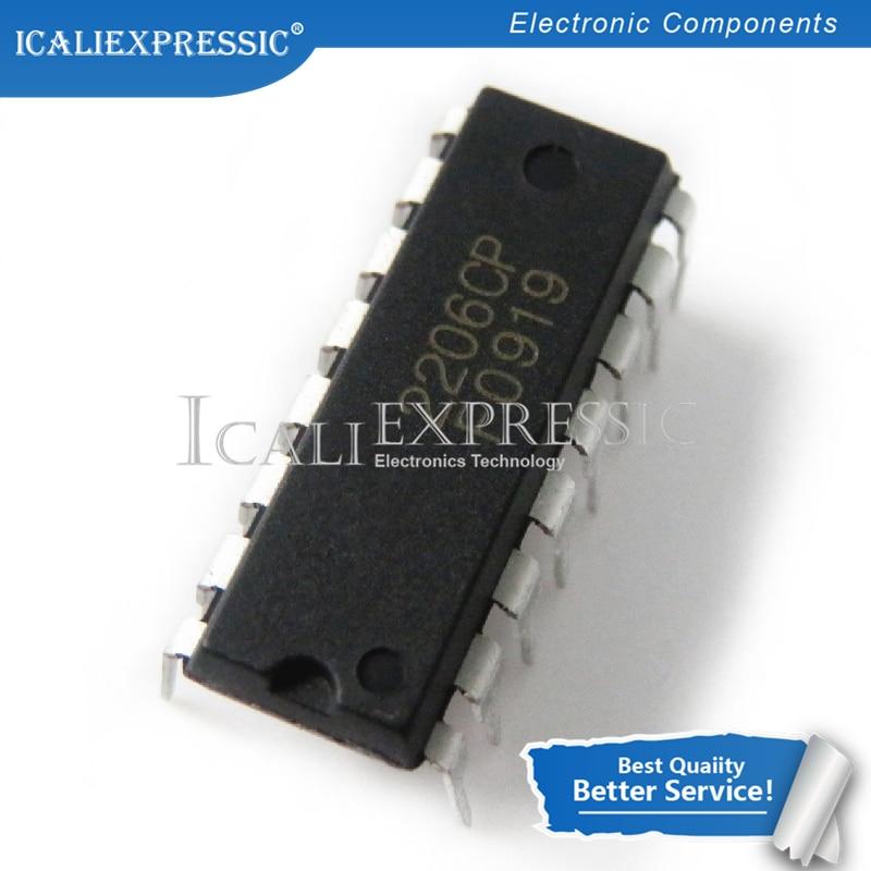 1 pces xr2206cp XR-2206 xr2206 dip-16 gerador de função monolítica ic em estoque