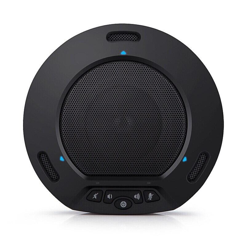 Microfone omnidirecional skype zoom alto-falante microfone